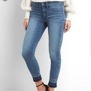 Gap Inner Cozy Legging Jeans  Raw Hem 28